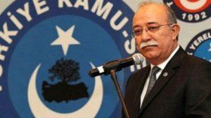 Türkiye Kamu-Sen Genel Başkanı İsmail Koncuk istifa etti