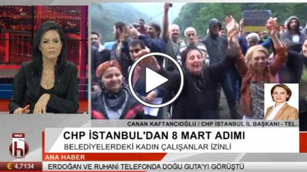 Canan Kaftancıoğlu, CHP'nin İstanbul'daki 8 Mart adımını anlattı