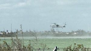 ABD savaş uçağı denize düştü