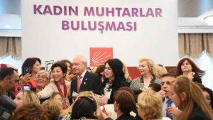 Kemal Kılıçdaroğlu, kadın muhtarlarla buluşacak