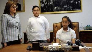 23 Nisan'da Başkanlık koltuğuna oturan kız öğrenci intihar etti