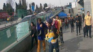 Mecidiyeköy'de metrobüs yolcuya çarptı