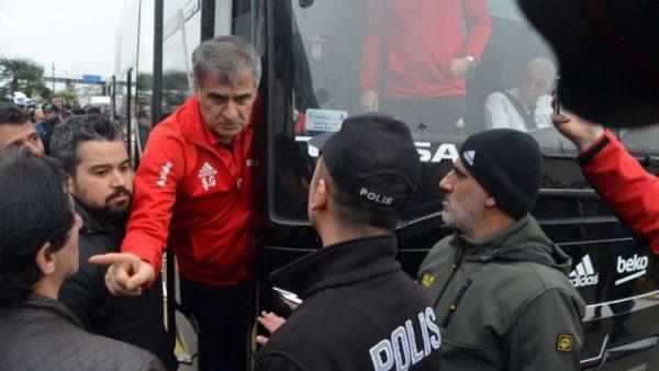 Şenol Güneş'e Trabzon'da şok tepki!