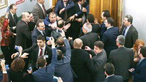 TBMM Başkanlığı harekete geçti: Kavgaya karışanlar hakkında idari soruşturma başlatıldı!