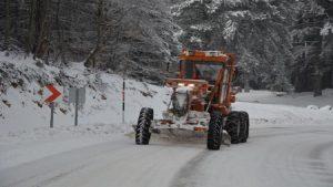 Uludağ'a bir gecede 30 santimetre kar yağdı