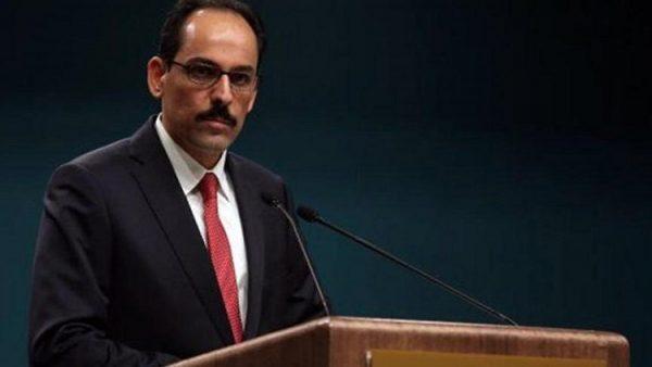 """İbrahim Kalın: """"Suriye rejimi hesap vermeli"""""""