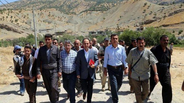 HDP'den Kuzey Irak'a ziyaret