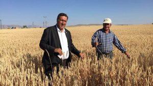 CHP'li Gürer'den çiftçilere destek