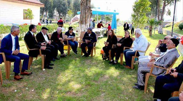 Başkan Turgut Huzurevi sakinleriyle kahvaltıda buluştu