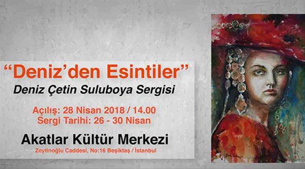 Resim severleri Beşiktaş'ta Deniz'den Esintiler bekliyor