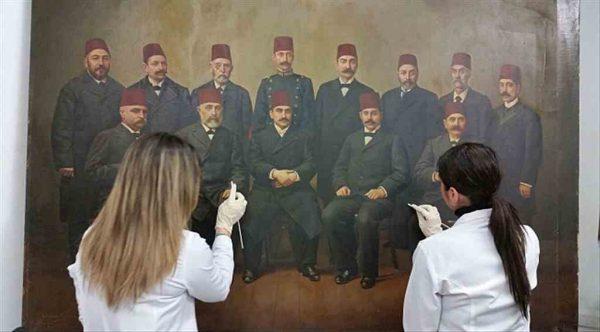 Edirne'nin tarihi tabloları restore ediliyor