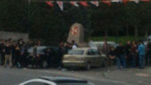 Türkeş'in mezarına Bahçeli engeli