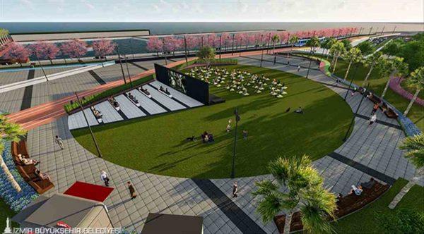 İzmir'in sahil ile bağını daha da güçlendirecek proje