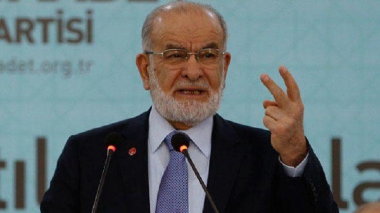 Saadet Partisi lideri Karamollaoğlu: Adayımızı belirleyeceğiz…