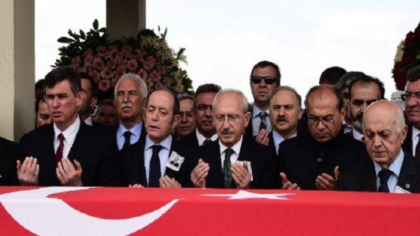 CHP eski milletvekili Ali Haydar Öner son yolculuğuna uğurlandı