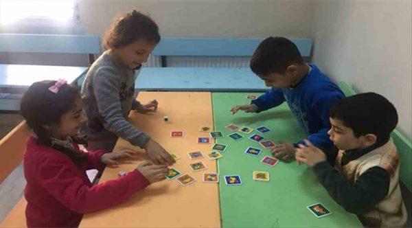 Süleymanpaşa'da miniklere özel eğitim süreci