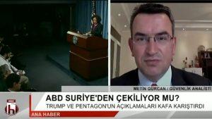 ABD Suriye'den çekilecek mi?