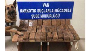 Van'da 30 kilo 920 gram eroin ele geçirildi