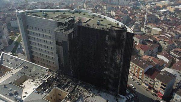 Şaşkına çeviren iddia… Hastane bu yüzden mi yandı?