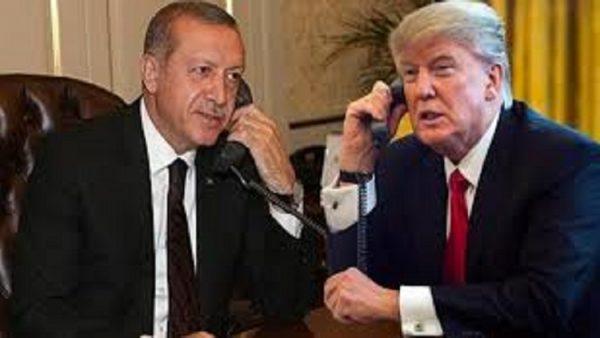 Erdoğan ve Trump görüştü Beyaz Saray'dan açıklama