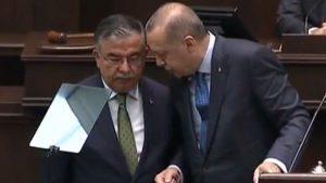 AKP grup toplantısında ilginç anlar