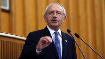 Kemal Kılıçdaroğlu grup toplantısında konuşuyor