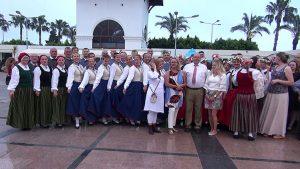 Letonya'nın 100'üncü kuruluş yıldönümü Kemer'de kutlandı