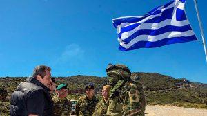 """Yunanistan sınıra 7 bin asker gönderdi! """"Girme cesaretleri varsa onları ezeriz"""""""