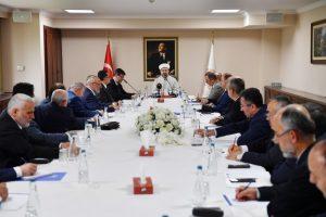 Diyanet İşleri Başkanı Erbaş, yeni atanan müftüleri kabul etti