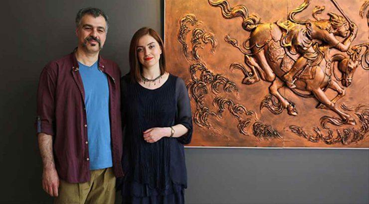 Tebrizli sanatçıdan Eskişehir'de heykel ve rölyef sergisi