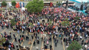 AKP'nin Giresun mitingi fiyaskoyla sonuçlandı
