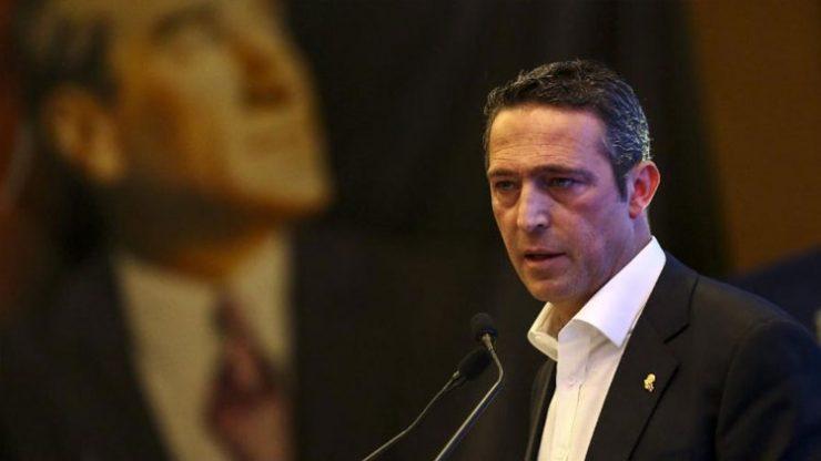 Fenerbahçe başkan adayı Ali Koç'tan FETÖ tepkisi!