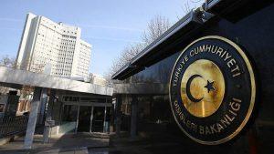 Dışişleri Bakanlığı'ndan Yunanistan'a sert tepki