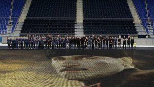 Fenerbahçe'den eşi benzeri görülmemiş Atatürk portresi