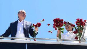 Muharrem İnce'den Kırkağaç Çam Festivali'ne ziyaret