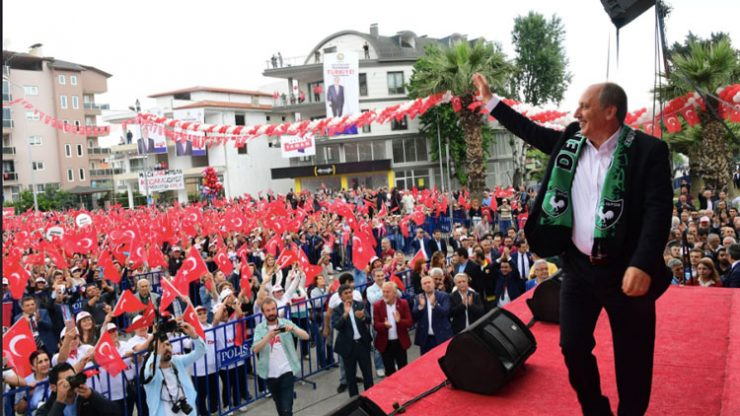 Muharrem İnce bugün Bartın ve Zonguldak mitingine gidiyor