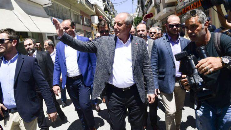 Muharrem İnce Yunanistan'da: Ege'nin iki yakası bir araya gelmeden…