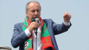 İnce'den Bilal Erdoğan'a: Mikrofonu babana ver