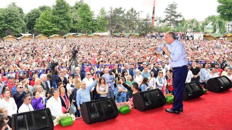 Muharrem İnce'den Erdoğan'a zor sorular