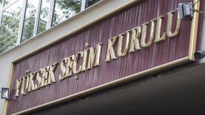 YSK Cumhurbaşkanlığı için kesin aday listesini açıkladı