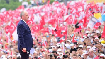 Muharrem İnce İstanbul mitinginde 5 milyon kişiye seslendi