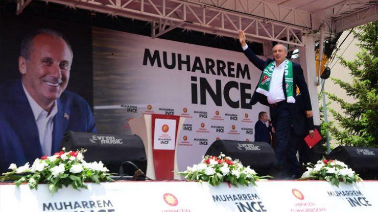 Muharrem İnce: Fenerbahçe nasıl değiştirdiyse biz de öyle değiştireceğiz