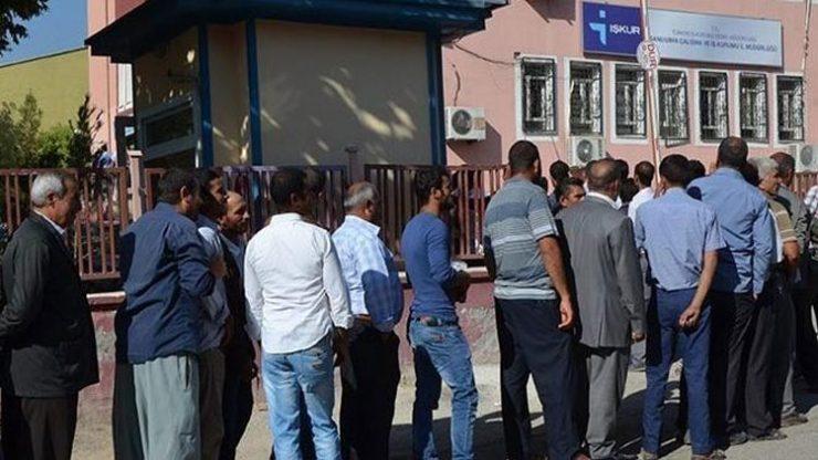 İşsizlik rakamları açıklandı: 3 milyon 210 bin kişi işsiz