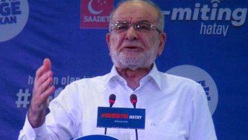 Karamollaoğlu'ndan AKP'ye: Acınacak haldesiniz