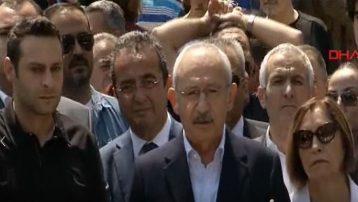 CHP Lideri Kemal Kılıçdaroğlu oyunu kullandı