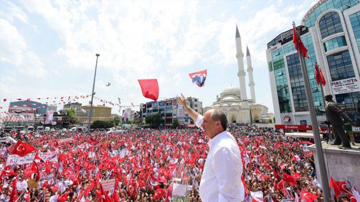 Muharrem İnce: Erdoğan'ın babayiğit adamlarından biri gelsin