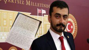 Eren Erdem'den kurultay delegelerine mektup