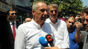 Muharrem İnce: CHP'de kavga yok, değişim rüzgarları esiyor