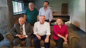 CHP'nin önde gelen isimlerinden Seyfi Oktay, İnce'yi ziyaret etti