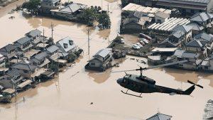 Japonya'da felaket: 209 ölü